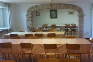 Sala da pranzo per pranzo al sacco